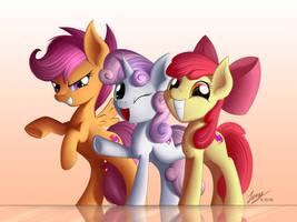Cute trio by Duskie-06