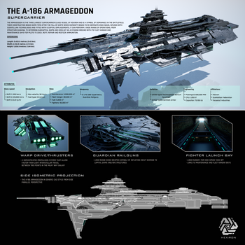 A-186 Armageddon Supercarrier [HD] by Duskie-06