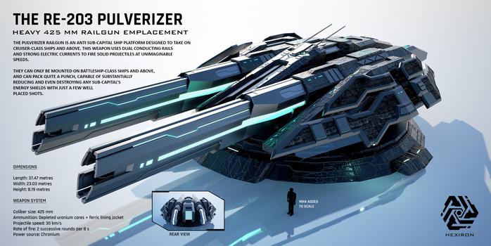RE-203 Pulverizer