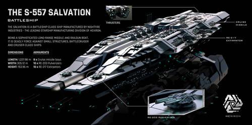S-557 Salvation Battleship