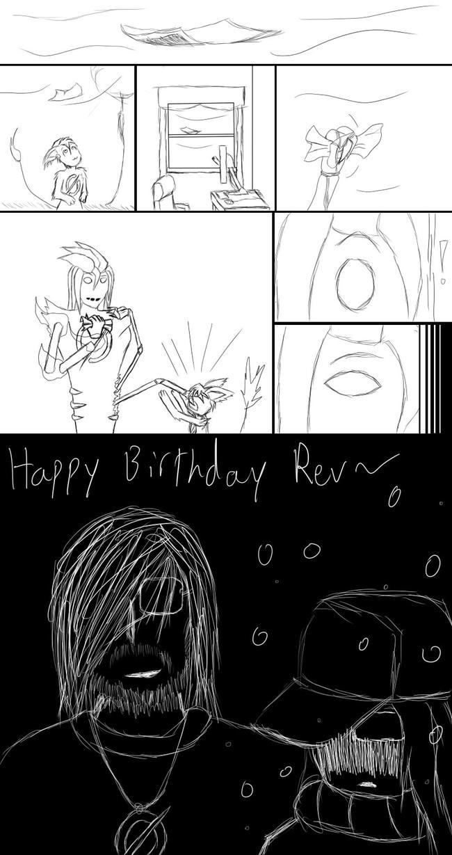 Happy Birthday Rev by zerodeath98