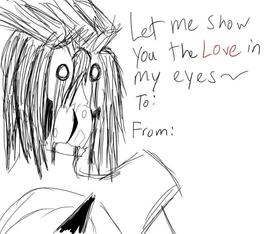Valentine's Day card by zerodeath98