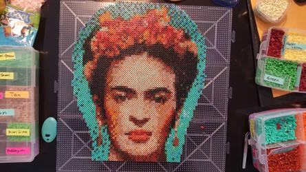 Frida Perler Beads