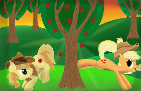 Apple Bucking by ArtsyFilmer