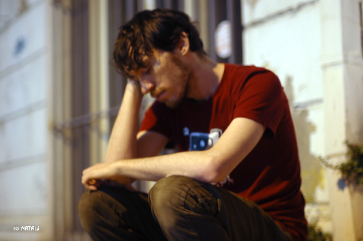sad boy by avivi