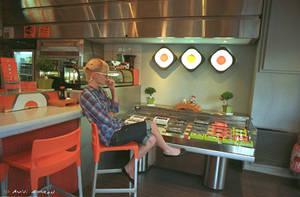 Sushi Spotting Between Periods by avivi