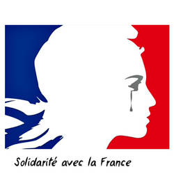Solidarite avec la France by avivi