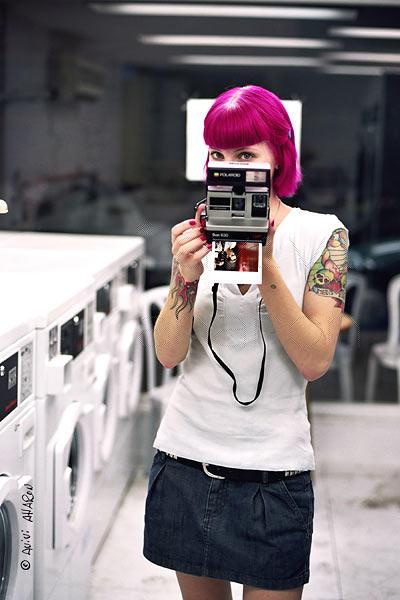 Polaroid  Lady by avivi
