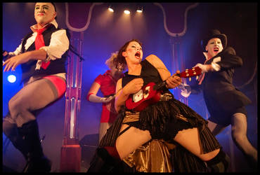 Amanda Palmer on Stage