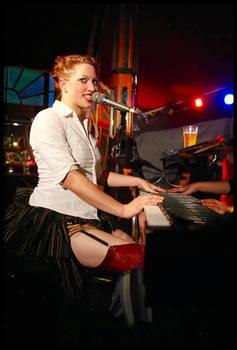 Amanda playing the piano II