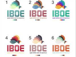 Logo IBOE (Igreja Batista Oasis de Esperanca) by Danielsnows