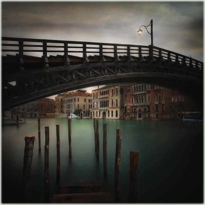 bridge over calm water by spare-bibo