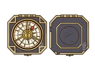 Jack Sparrow's Compass by LeSardine