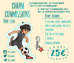Commissions Info: Keychains [OPEN] by LeSardine