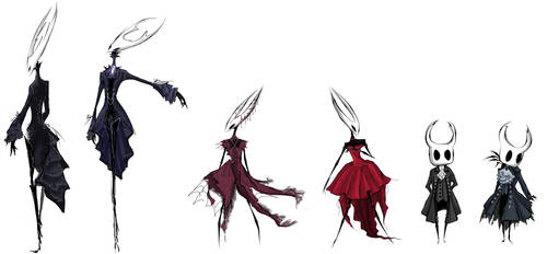 Hollow Knight Doodles by tietto