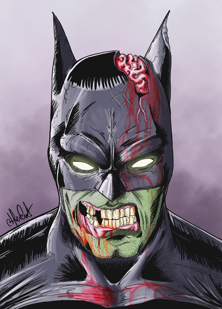 Zombie Batman Comic Zombie Batman by Craig...