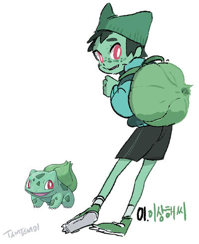 001.Bulbasaur by tamtamdi