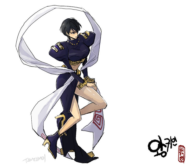 Hakyuu Houshin Manga: Ou Kijin From Houshin Engi By Tamtamdi On DeviantArt