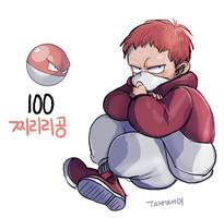 100.Voltorb by tamtamdi