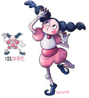 122.Mr. Mime by tamtamdi