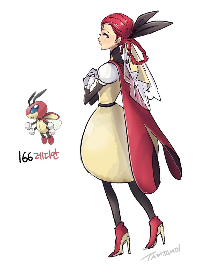 166 Cm Anime Characters : Ledian by tamtamdi on deviantart
