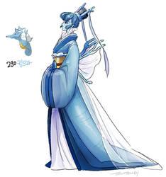 230.Kingdra by tamtamdi