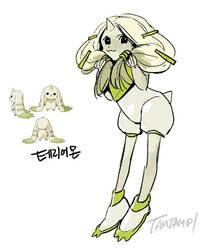 Terriermon by tamtamdi