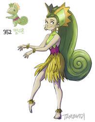 352.kecleon by tamtamdi