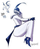 359.Absol by tamtamdi