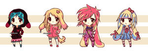 Chibis Adoptables Batch #1 - CLOSED