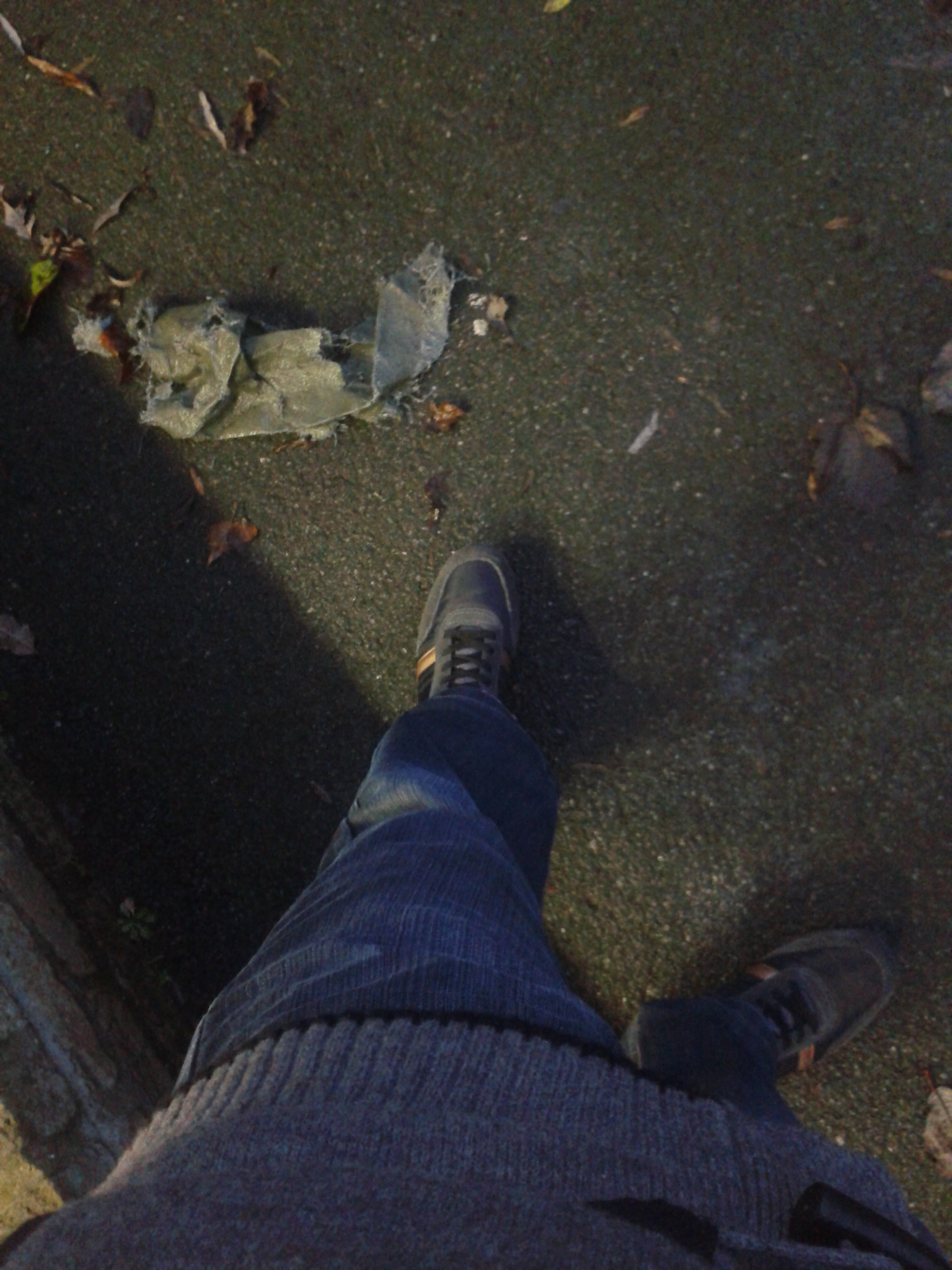 My feet on the ground by mvandenterghem