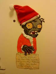 Plants Vs. Zombies Santa Claus