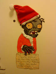 Plants Vs. Zombies Santa Claus
