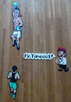 Punch Out hama beads