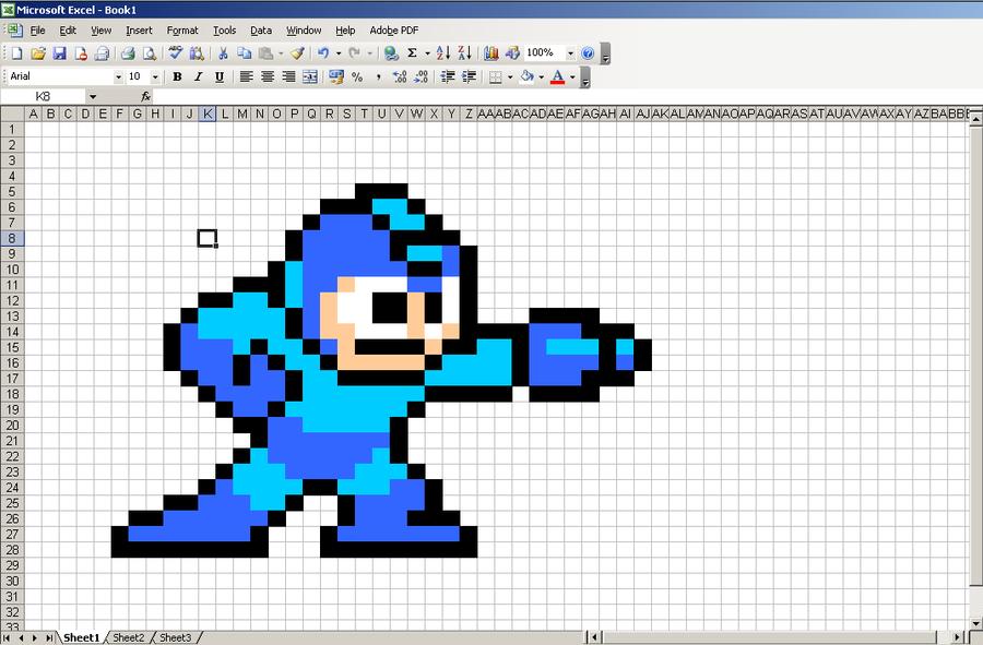 excel pixel art download thevillas co