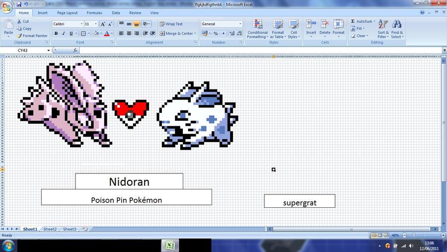 Nidoran MS excel