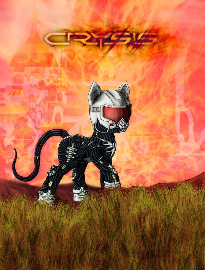 Programa 6x24 (05-07-2013): 'Crysis 3' Mlp__crysis_pony_by_alcor90-d5oo9z7