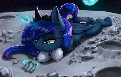 Sad Luna by Alcor90