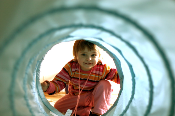 Aalia and the tunnel