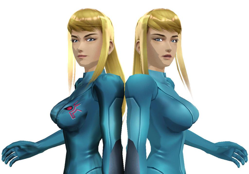 Brawl Zero Suit Samus To MMD DL by ShadowlesWOLF on DeviantArt