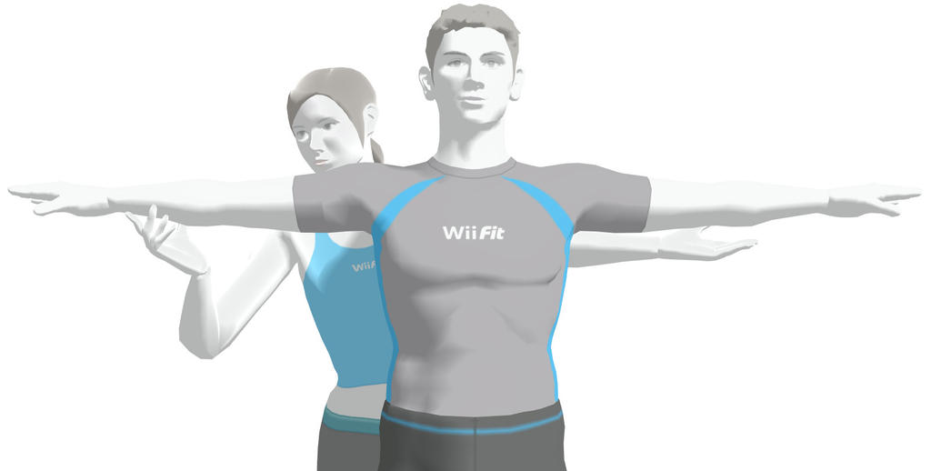 how to use wii fit trainer down b