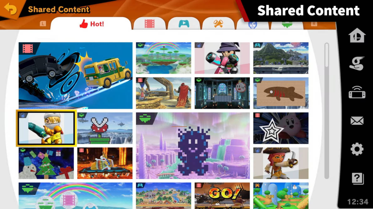 Super Smash Bros  Ultimate Stage Builder And More by ShadowlesWOLF