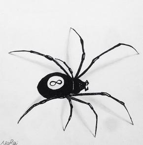 Billiard Spider by neoraitamim4
