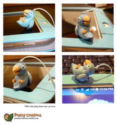 Ollie charm by FoxedFerret