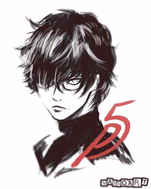 Akira Kurusu Persona 5 By Massoart On Deviantart