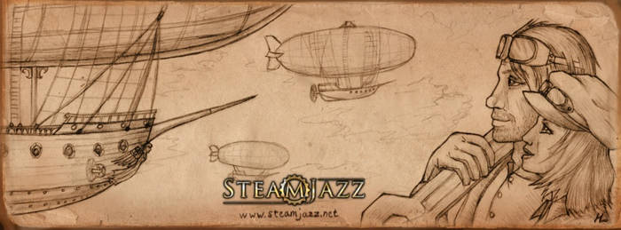 SteamJazz cover
