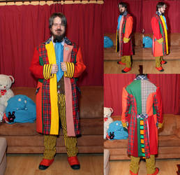 Doctor Who 6th Doctor cosplay