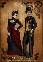 SteamJazz Victoran Couple