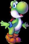 Yoshi (Princess Daisy Scribble Scramble)