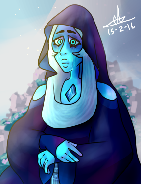 Mona Blue by MisterYoshiandwatch